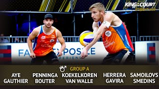 Men's Group A - Session 1 | Beach Volleyball | King of the Court Utrecht 2020