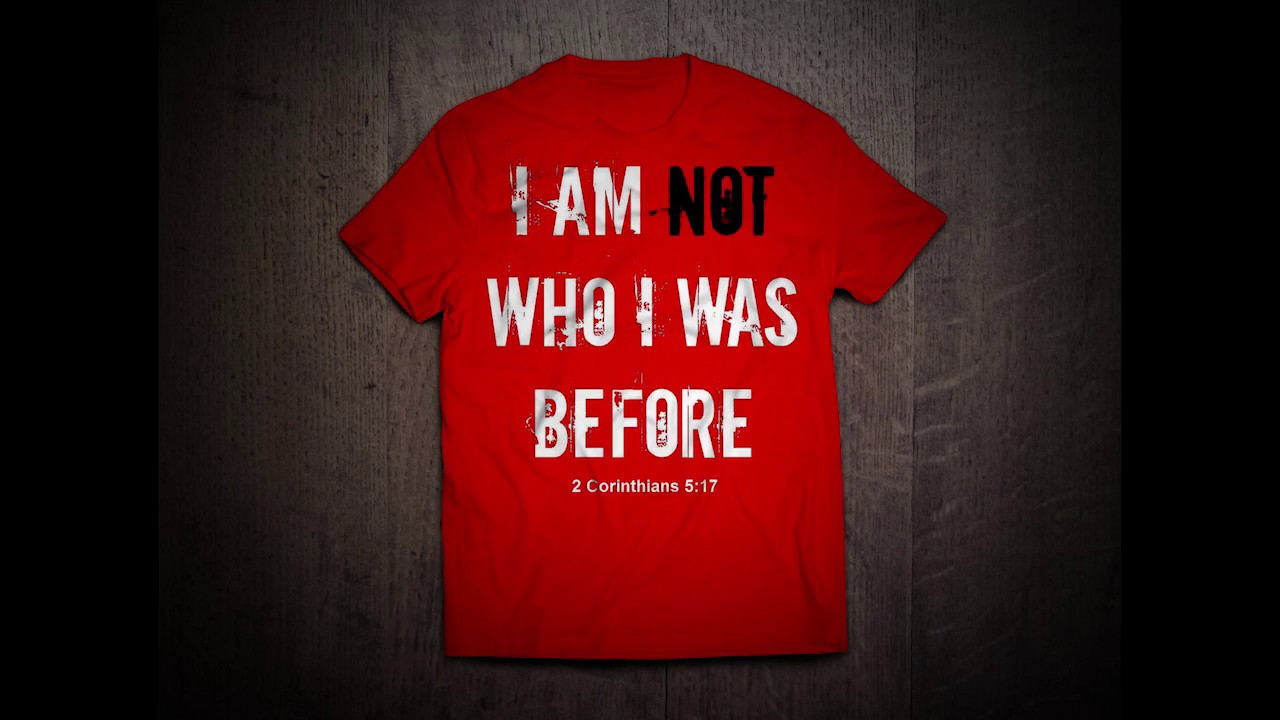 I AM NOT WHO I WAS BEFORE T-Shirt