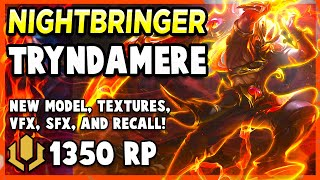 *NEW* NIGHTBRINGER TRYNDAMERE IS A CRIT MONSTER - League of Legends Gameplay