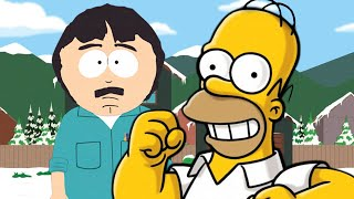 Homer Simpson vs Randy Marsh. Epic Rap Battles of Cartoons Season 3.