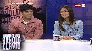 Tonight with Arnold Clavio: Sanya Lopez at Jak Roberto, mga talent ni Kuya Germs