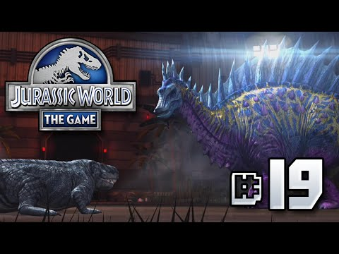 Frilled Killers    Jurassic World - The Game - Ep 19 HD