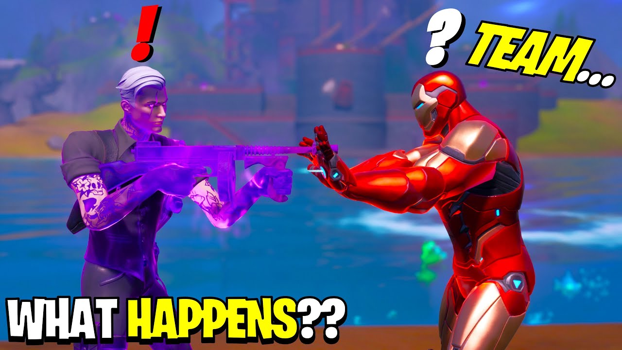 What Happens if Boss Midas Meets Boss Iron Man in Fortnite