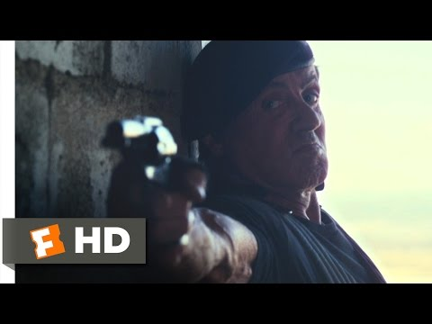 The Expendables 3 (10/12) Movie CLIP - Get to the Roof! (2014) HD
