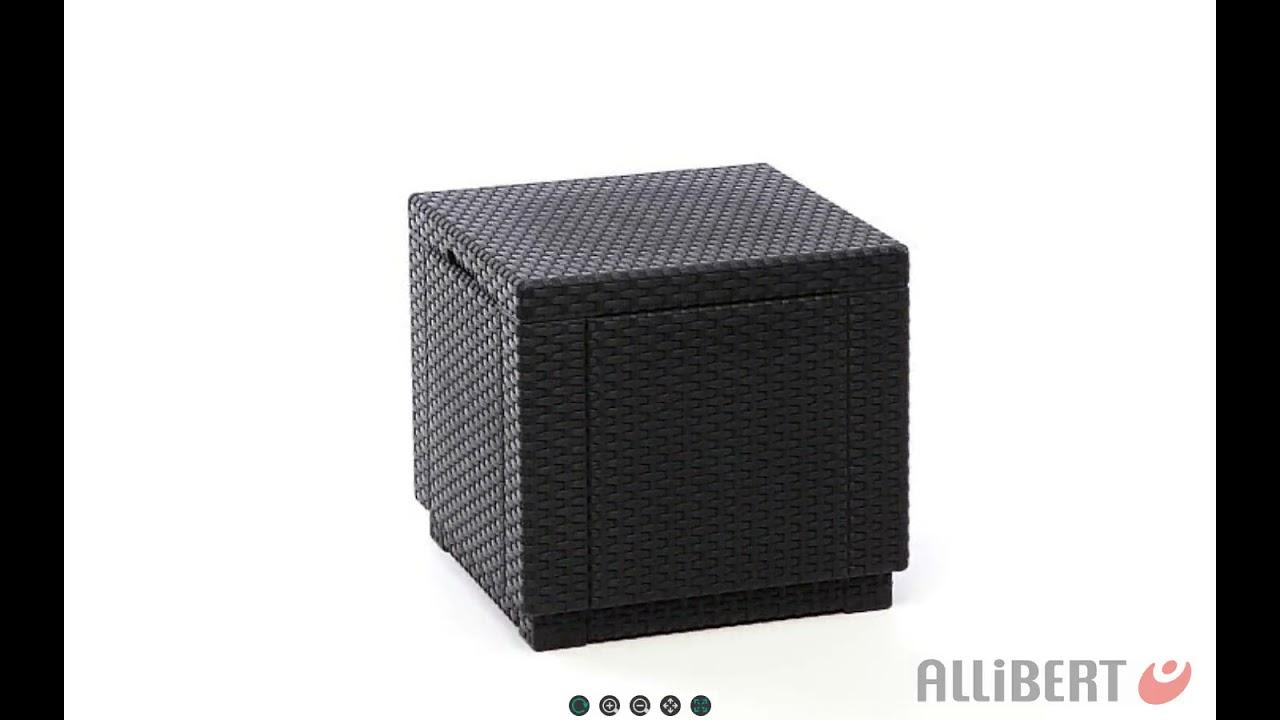 Allibert Cube side table