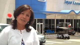 Joyce Koons Buick GMC Customer Testimonial Manassas VA