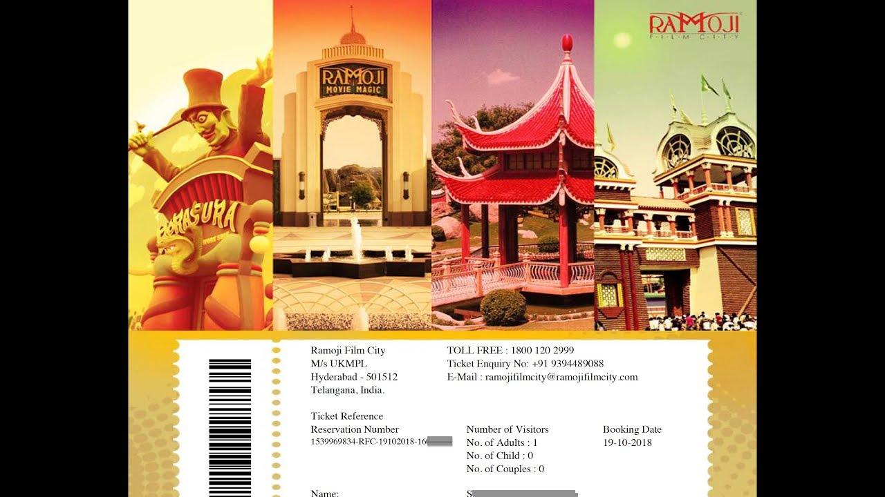 Ramoji Film City Hyderabad Packages Ticket Price 2019