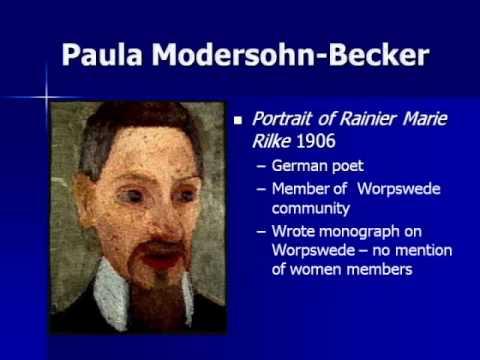 ARTH 4117 20th Century 1:  Paula ModersohnBecker