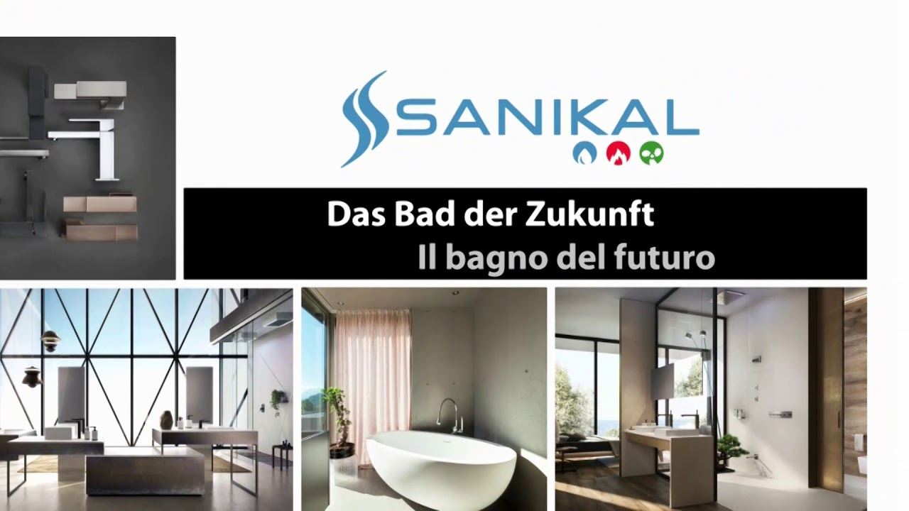 Sanikal das bad der zukunft il bagno del futuro youtube - Bagno del futuro ...