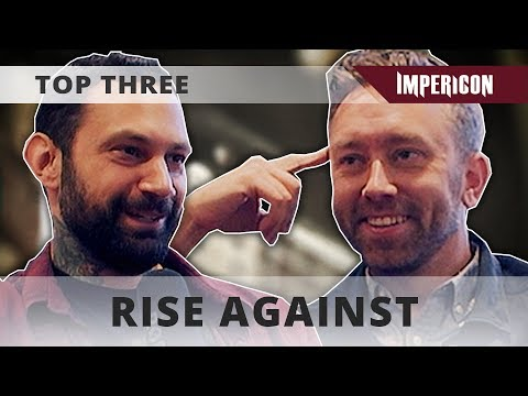 Top Three with Rise Against