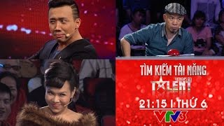 bo ba quyen luc trong vong ban ket vietnams got talent 2016 - tran thanh viet huong va huy tuan