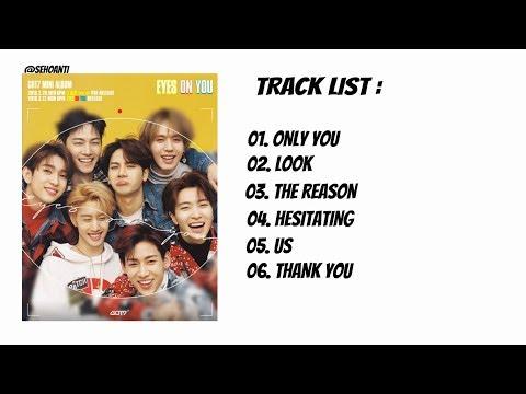 Got7 'Eyes On You'    8th Mini Album  Full Album