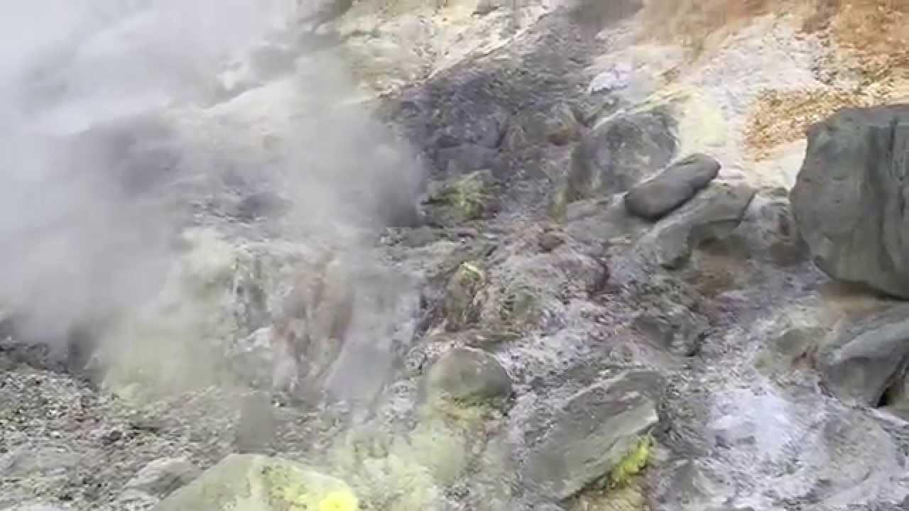 Hell Valley At Tamagawa Onsen  Akita  Japan