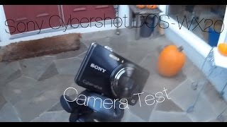 My New Camera | Sony Cyber-shot DSC-WX220 Video Test