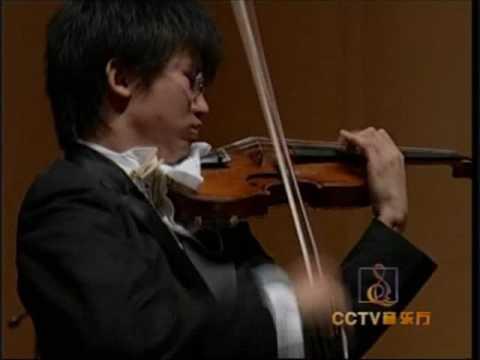Dan Zhu plays Tchaikovsky Violin Concerto 1st mvt