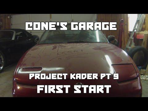 Cone's Garage | Project KA24DER Part 9 | Startup Attempts