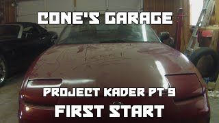 homepage tile video photo for Cone's Garage   Project KA24DER Part 9   Startup Attempts
