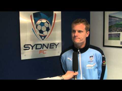 Sydney FC Sign Striker Matt Simon | Player Interviews | Sydney FC