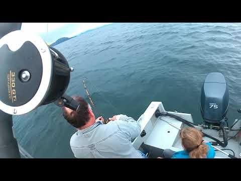 Halibut 109 Pounds - Whittier Alaska