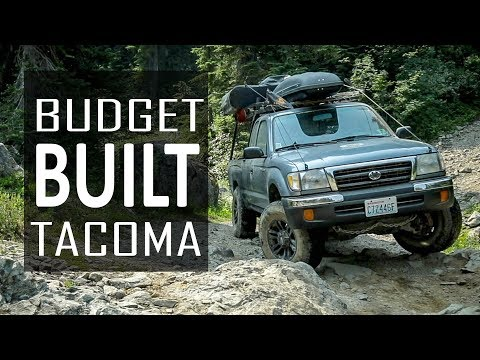 Budget Built Overland Tacoma Rig Walk Around!