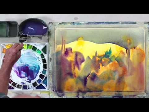 Preview   Color Foundation with Stephen Quiller: Personal Expression Painting Demonstration