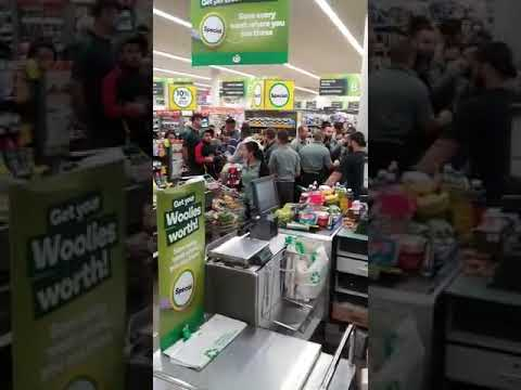 COVID-19: Tensions Boil Over In Sydney Supermarket
