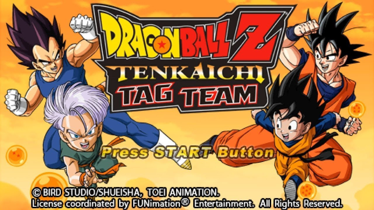 PSP Longplay [010] Dragon Ball Z: Tenkaichi Tag Team