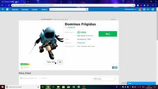HOW TO GET A FREE DOMINUS AND ROBUX *NEW 2019 WORKING* {NOT CLICKBAIT}