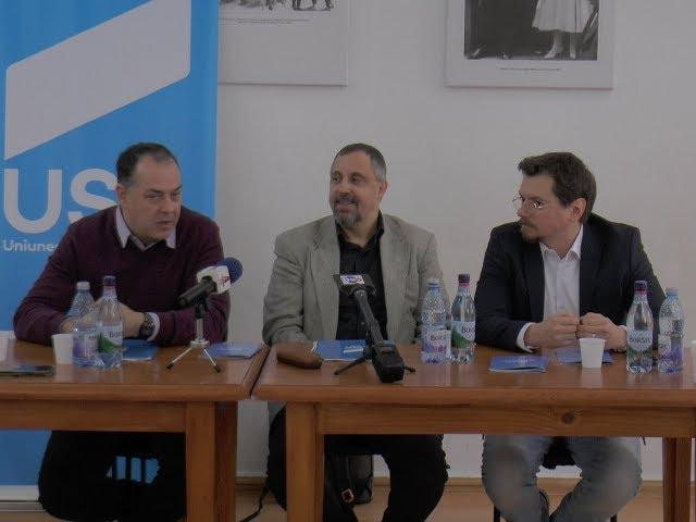 USR PAȘCANI – PRIMA CONFERINȚĂ DE PRESĂ
