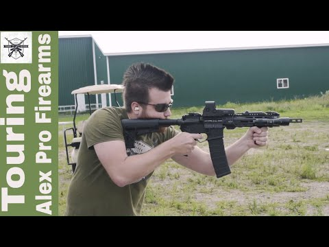 Alex Pro Firearms Factory Tour and Machine Gun Shoot
