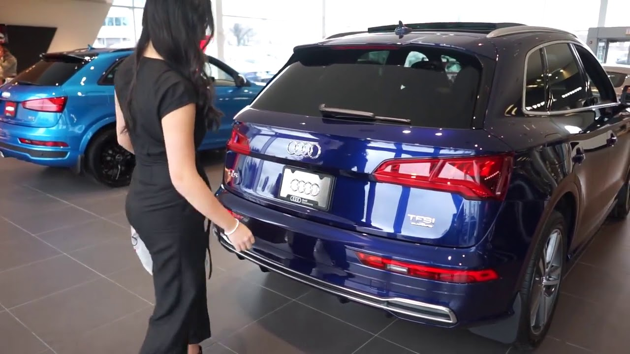 Audi Hands Free Trunk Opening Feature