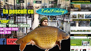 Pescuit la crap cu Alex Matea