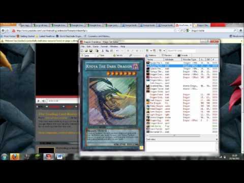 Trading Card Maker Program - YouTube