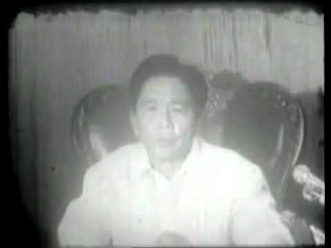 Download Youtube: Marcos Declares Martial Law Sept. 23, 1972