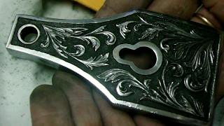 видео гравировка на металле