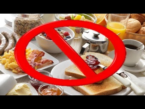 Do Not Eat These Foods In The Morning!!