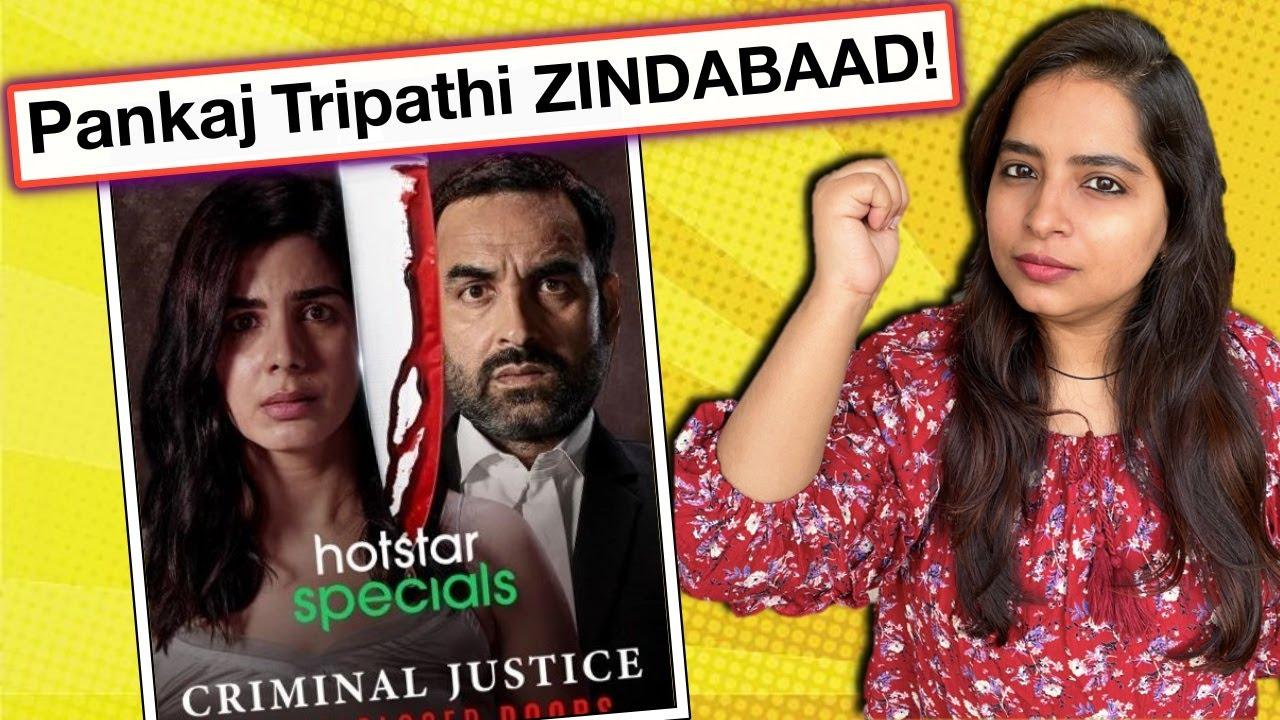 Download Criminal Justice Season 2 REVIEW | Deeksha Sharma