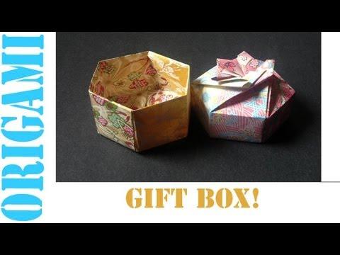 Hexagon Box Base (Modular 2 Unit) - SunderOrigami!