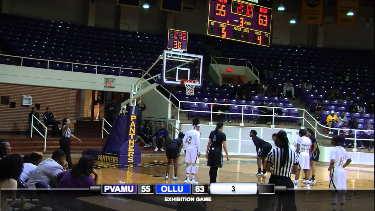 PVAMU Women's Basketball Exhibition vs. Our Lady of the Lake - YouTube