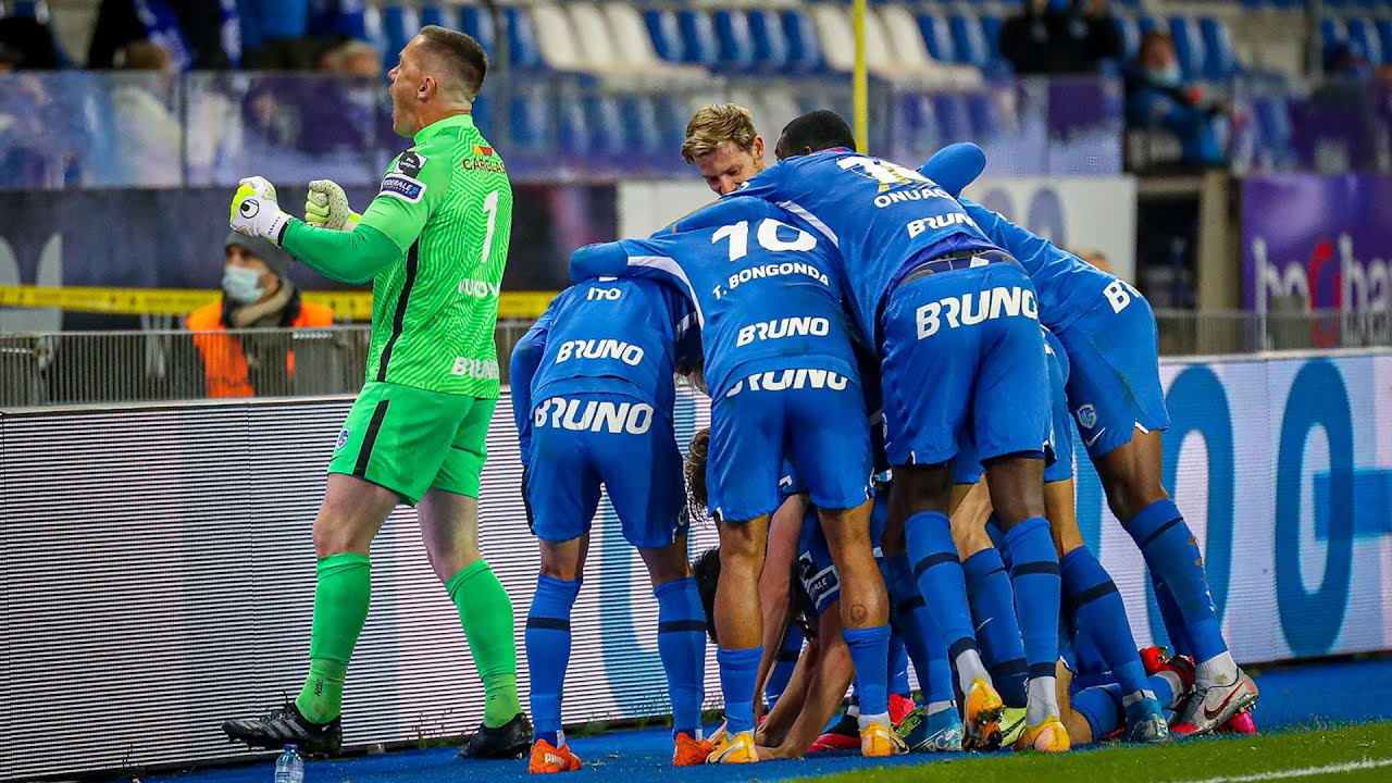 9 Krc Genk Charleroi 2 1 Game Highlights 18 10 2020 Youtube