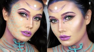Trucco Halloween Catwoman.Chrisspy Catwoman Halloween Makeup Tutorial Gabriel Zamora Vloggest