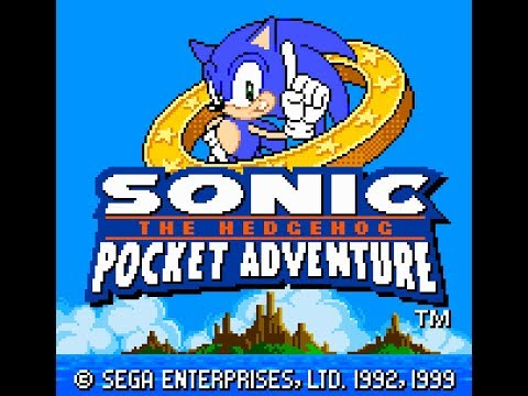 Neo Geo: Sonic the Hedgehog - Pocket Adventure (HD / 60fps) - All puzzle pieces
