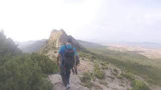 LLEGADA A PEÑA TAMBORRA  (Sierra  de Nava Alta)