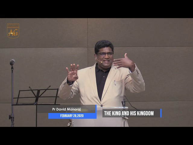 Ps. David | English Sermon | The King & His Kingdom | 28 February 2020