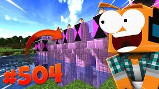 """Minecraft #504 - """"Nowy most, eksploracja jaskiń!"""""""