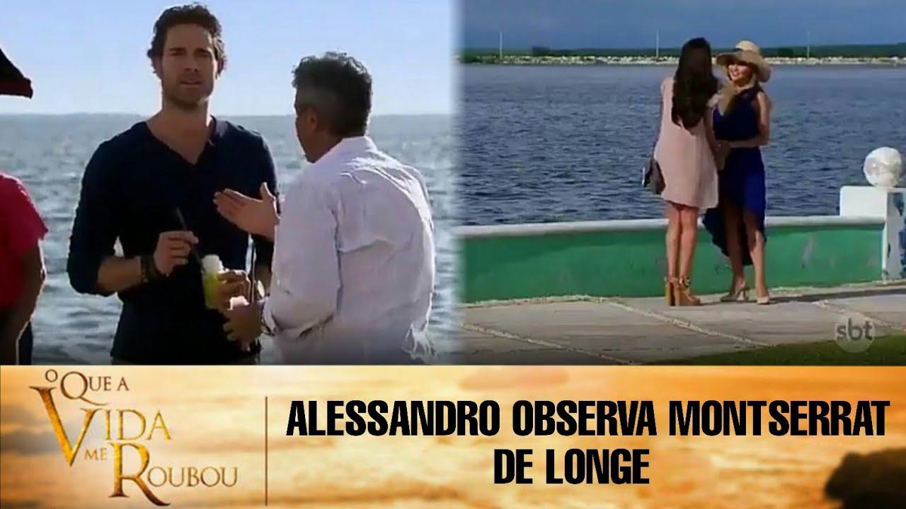 Download O Que a Vida Me Roubou - Alessandro observa Montserrat de longe