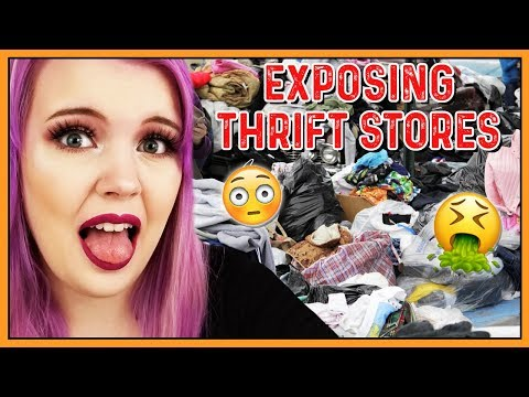 EXPOSING THRIFT STORES (& WHAT IT'S LIKE TO WORK IN ONE) PART 3