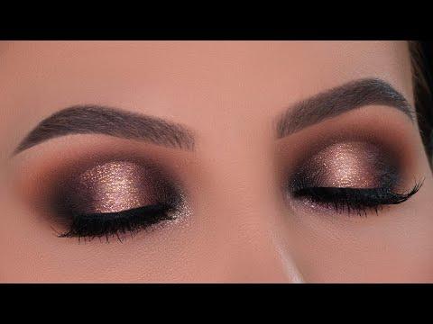 Smokey Halo Eye Makeup Tutorial | ABH x Amrezy Palette