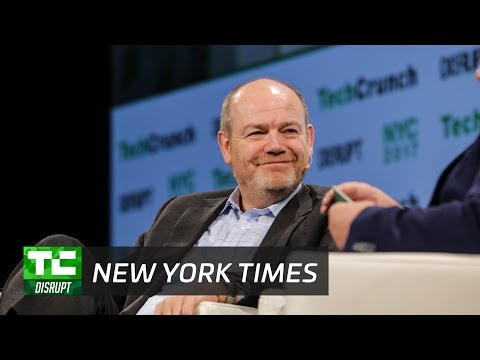 Media is not dead and the NY Times is ONIT with Mark Thompson | Disrupt NY 2017