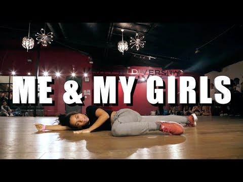 Me & My Girls ft Charlize Glass - Selena Gomez | Brian Friedman Choreography | Millennium